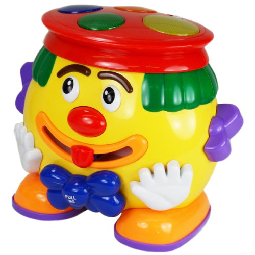 Megcos Musical Toy Clown -Affordable Gift for your Little One! Item #LMID-1218 - 1
