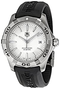 TAG Heuer Men's WAP1111.FT6029 Aquaracer Silver Dial Watch by TAG Heuer