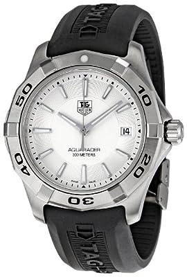 TAG Heuer Men's WAP1111.FT6029 Aquaracer Silver Dial Watch