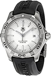 TAG Heuer Men's WAP1111.FT6029 Aquaracer Silver Dial Watch