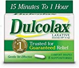 Dulcolax Laxative, Suppositories, 8 Count