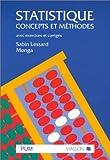 echange, troc Sabin Lessard, Monga - Statistique : concepts et méthodes