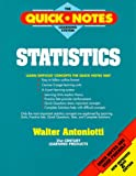 img - for Statistics (The Quick Notes Learning System) book / textbook / text book