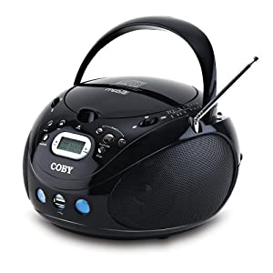 Coby MPCD471 Portable MP3/CD Player with AM/FM Radio and USB Port (Discontinued by manufacturer)