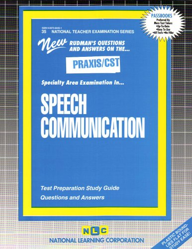 Speech Communication (National Teachers Exam Series)