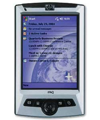 HP iPAQ rz1710 Pocket PC (Silver  &  Black)