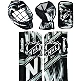 Franklin Sports NHL Mini Hockey Goalie Equipment with Mask Set (Colors May Vary)