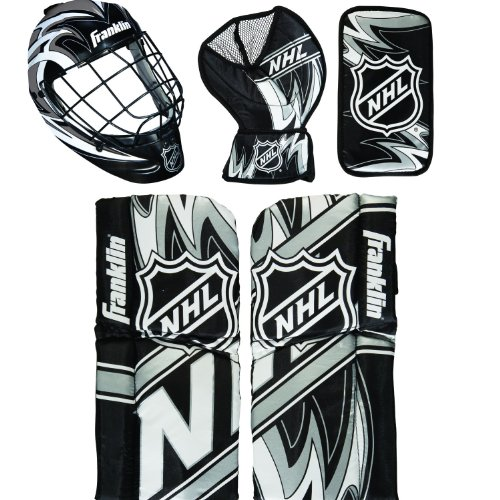 Franklin Sports NHL Mini Hockey Goalie Equipment with Mask Set