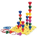 Learning Resources Rainbow Peg Play (Activity Set)
