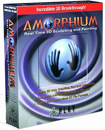 Amorphium Real Time 3-D Sculpting and Painting