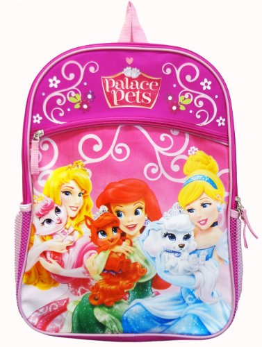 "Disney Princess and Palace Pets 16"" Backpack School Bag - 1"