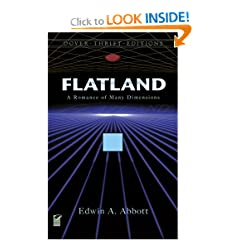 Flatland: A Romance of Many Dimensions (Dover Thrift Editions) by Edwin A. Abbott