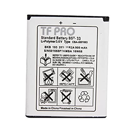 Tfpro-BST-33-900mAh-Battery-(For-Sony-Ericsson)