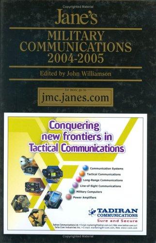 Jane'S Military Communications 2004-2005
