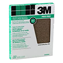 3M 99406NA 9-by-11-Inch Sand Paper Sheets 25-Pack