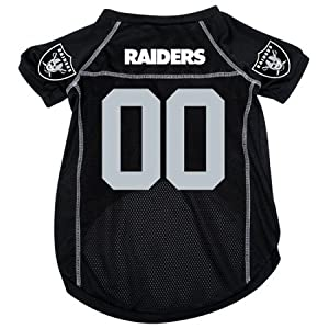 NFL Oakland Raiders #00 Black Dog Jersey (Large) by Hunter