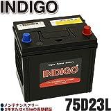 INDIGOバッテリー インプレッサスポーツワゴン【型式DBA-GGD 2006年6月~ EL15エンジン 4WD 寒冷地車】