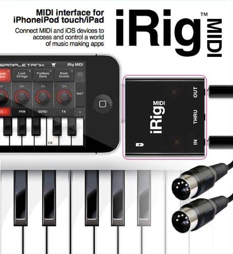 IK Multimedia iRig MIDI Interface for IOS Devices