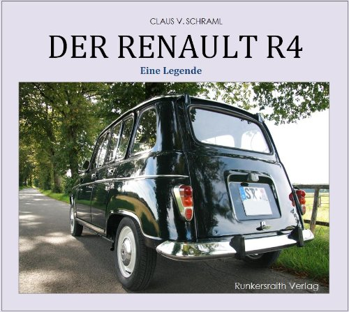 Der Renault R4 - Eine Legende (German Edition) cover