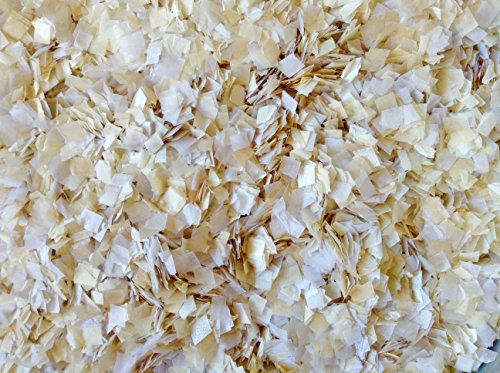 Cream Ivory Wedding Confetti Biodegradable Eco Environmentally Friendly Tissue Paper Flower Basket Aisle Decorations Decor Inside My Nest (25 Handfuls)