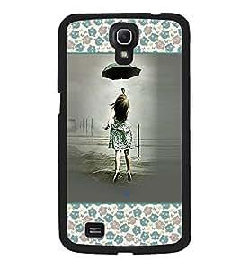 Fuson 2D Printed Cartoon Designer back case cover for Samsung Galaxy Mega I9200 - D4126