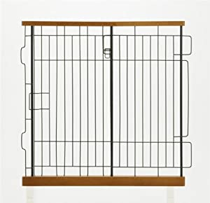 Richell Expandable Pet Pen Divider, Medium, Autumn Matte