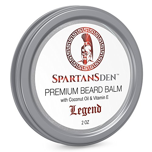 sale spartans den premium beard balm beard conditioner for growth soften. Black Bedroom Furniture Sets. Home Design Ideas
