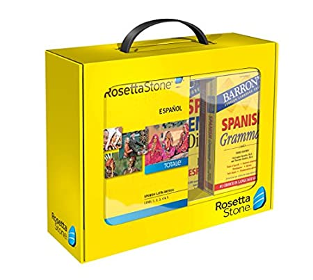 Learn Latin American Spanish | Rosetta Stone Power Pack | PC/Mac