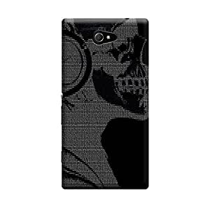 Phone Candy Designer Back Cover with direct 3D sublimation printing for Sony Xperia M2 Dual