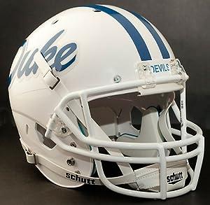 DUKE BLUE DEVILS 1981-1984 Schutt AiR XP Authentic GAMEDAY Football Helmet by ON-FIELD