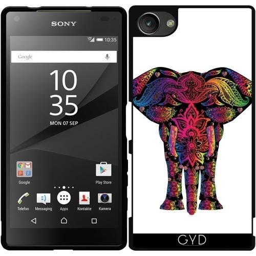 silicone-case-for-sony-xperia-z5-compact-colorful-elephant-mammal-style-by-wonderfuldreampicture