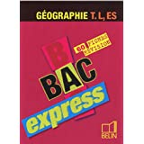 Géographie Tle L, ES : 60 fiches révision