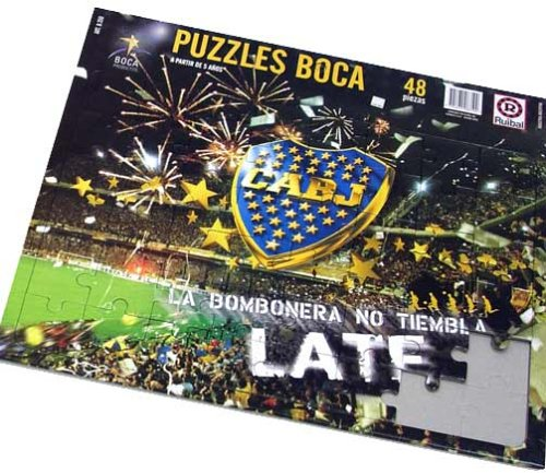Boca Juniors Rompecabezas - Puzzle 48 Pieces soccer team
