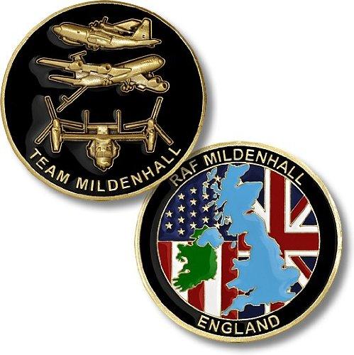 RAF Mildenhall, England Challenge Coin
