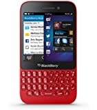 Blackberry Q5 SQR100-2 8GB Unlocked GSM 4G LTE Dual-Core OS 10.2 Smartphone - Red