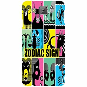 Design Worlds Samsung Galaxy E7 Back Cover - Signs Designer Case and Covers
