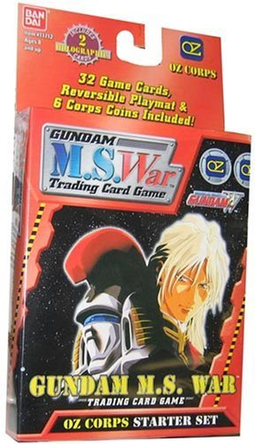 Gundam War Mobile Suit Card Game Starter Deck Oz Corps - 32C - 1