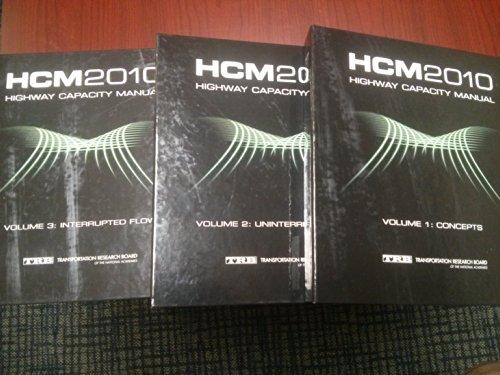 Highway Capacity Manual 2010