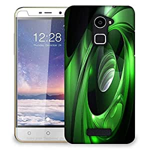 Snoogg Green Tribals Designer Protective Phone Back Case Cover For Coolpad Note 3 Lite