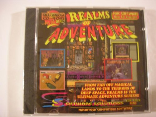 Realms of Adventure CD ROM ~ Canada Imports