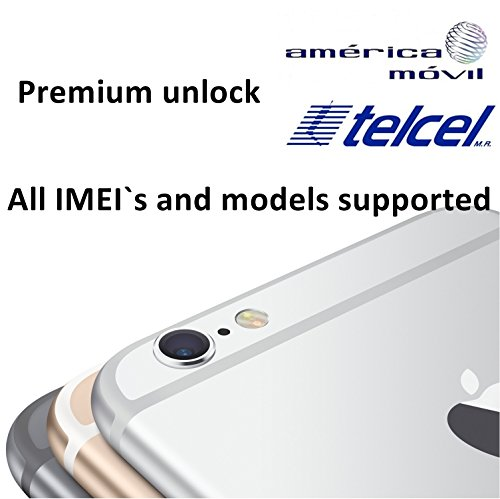 America Movil Premium Factory Unlock Service for iPhone 4s, 5, 5c, 5s, 6, 6 Plus, 6s, 6s Plus - All IMEI`s supported - Feel the freedom - Lifetime Guarantee (Unlock Service Iphone 4s compare prices)