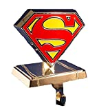 UPC 086131265679 product image for Superman Kurt Adler Superman Logo Stocking Hanger, Silver | upcitemdb.com