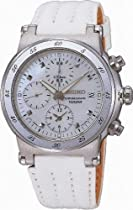 Stainless Steel Chronograph White Mother of Pearl Dial