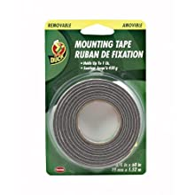 Duck Brand 1129541 3/4-by-60-Inch Removable Foam Mounting Tape