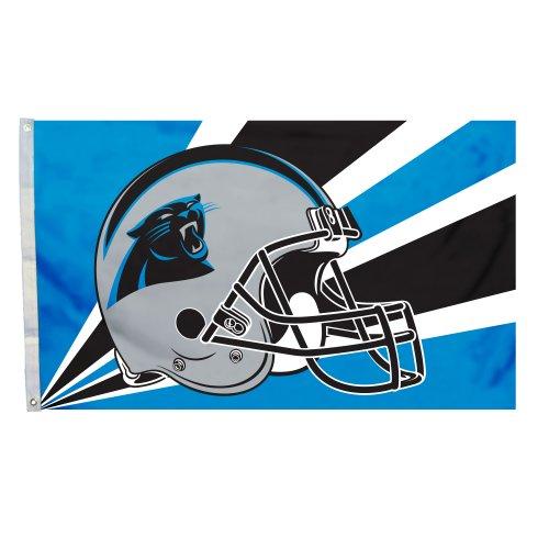 NFL Carolina Panthers Helmet Flag, 3 x 5-Feet