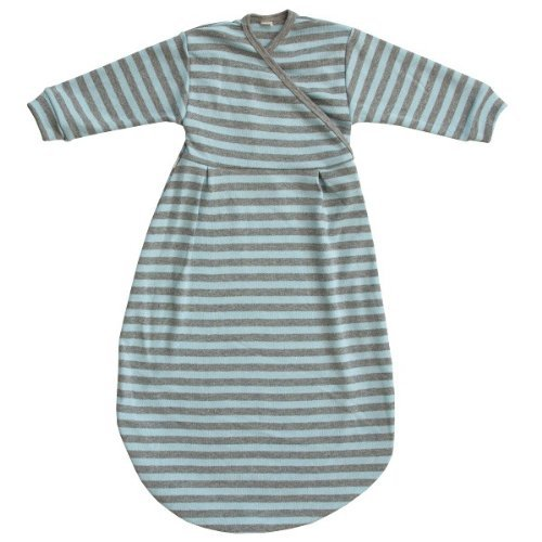 Popolini Felinchen Schlafsack blue-grey striped 74/80