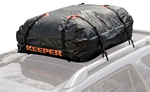 Keeper 07203-1 Waterproof Roof Top Cargo Bag (15 Cubic Feet) (Car Top Luggage Carriers compare prices)