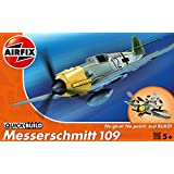 Airfix Quick Build Messerschmitt Bf109e Aircraft Model Kit