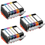 3 Set of 5 Ink First Ink Cartridges P...