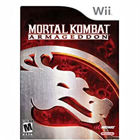 51X6r8yaRmL. SL500 AA280  Mortal Kombat Armageddon For The Wii   $20